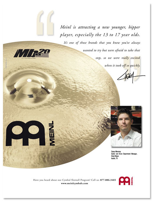 Meinl Cymbals/ Percussion