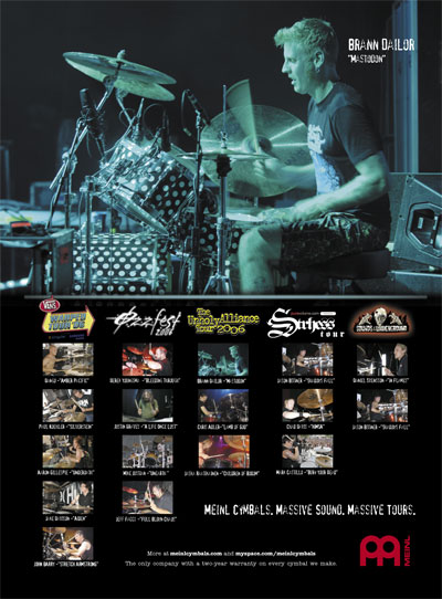 Meinl Cymbals/ Percussion Drum Business Magazine Ad