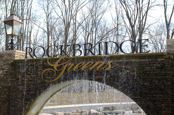 Rockbridge Greens Entrance Signage Project